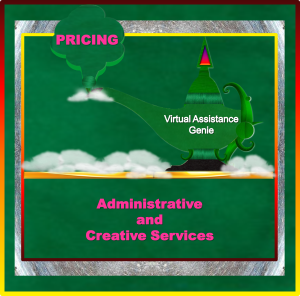 Rates - Administrative & Creative Services Page Image - 2015