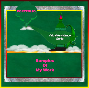 Services - Samples of My Work Page Image - 2015