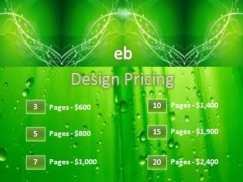 Web Design Pricing (II)